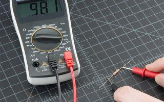 Как пользоваться омметром – советы электрика