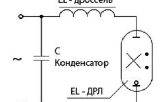 Схема подключения дрл – советы электрика