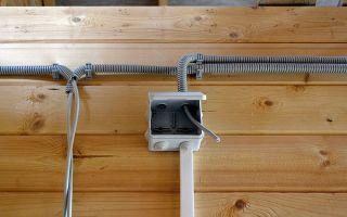 Каким проводом делать проводку в деревянном доме – советы электрика