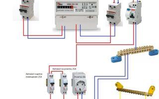 Подключение вводного автомата – советы электрика