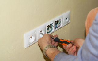 Как установить внутреннюю розетку – советы электрика