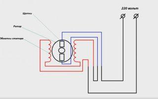 Подключение коллекторного двигателя со щетками – советы электрика
