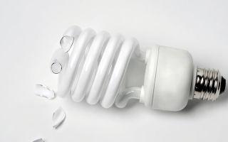 Разбилась лампочка энергосберегающая – советы электрика