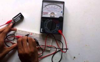 Как пользоваться стрелочным мультиметром – советы электрика