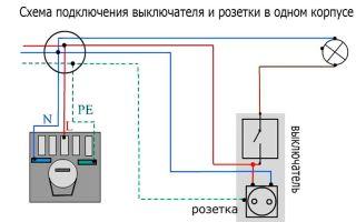 Схема подключения розеток – советы электрика