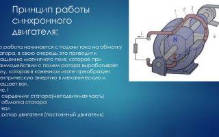 Синхронный электродвигатель устройство и принцип действия – советы электрика
