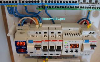 Автомат 3х фазный – советы электрика