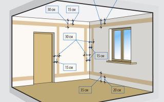 Разводка проводки в комнате – советы электрика