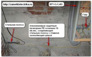 Сечение провода для заземления в частном доме – советы электрика