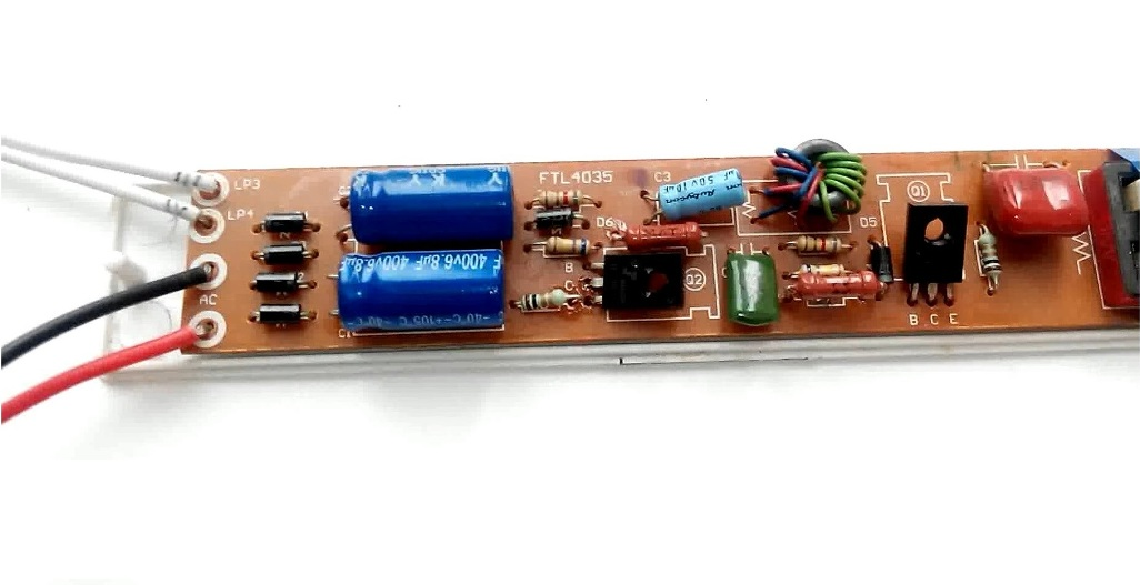 Электронный балласт - устройство ремонт и схема подключения для люминисцентных ламп