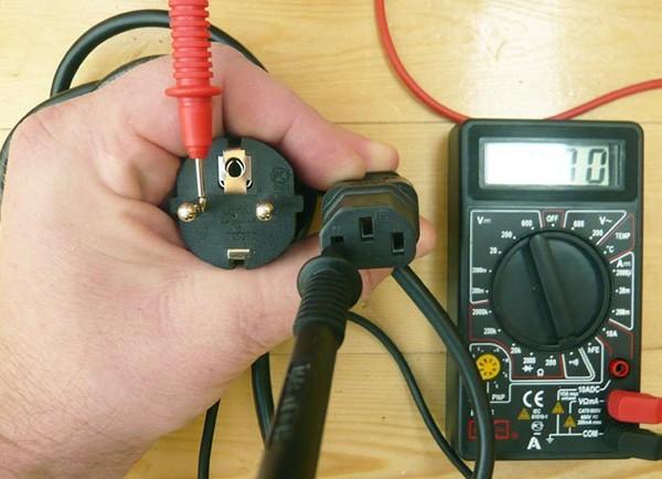 Как проверить разрыв цепи мультиметром