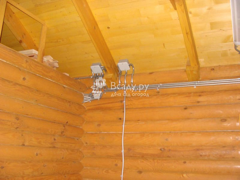 Какой марки толщины провод необходимо приобрести для замены в деревянном доме